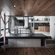 Interiors of Apartment X, designed by KC Design Studio