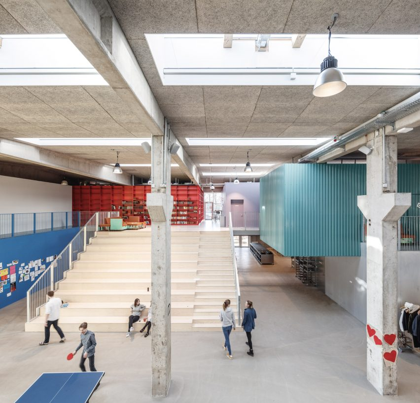 Roskilde Festival Folk High School by COBE and MVRDV