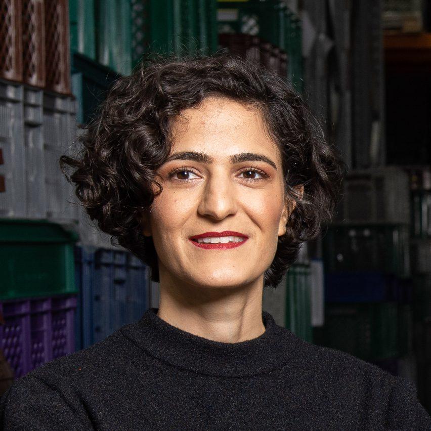 Portrait of CupClub founder Safia Qureshi