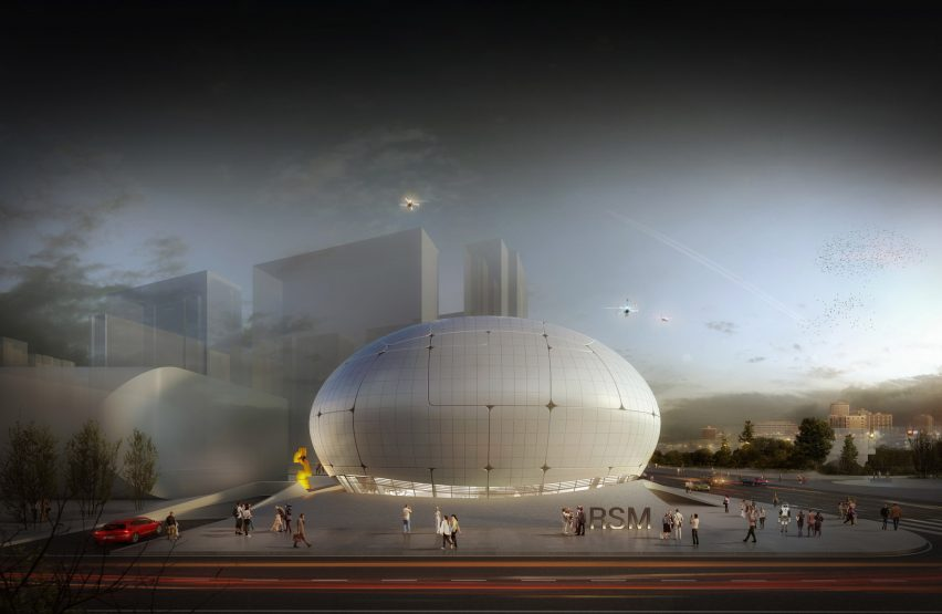 Robot Science Museum in Seoul by MAA