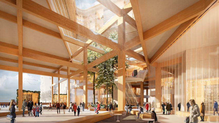 Quayside at Sidewalk Toronto by Snøhetta and Heatherwick Studio