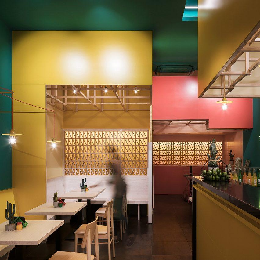 Erbalunga Estudio creates restaurant interior inspired by its Mexican menu