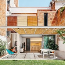 Exterior of Single House in Horta, designed by TAAB6