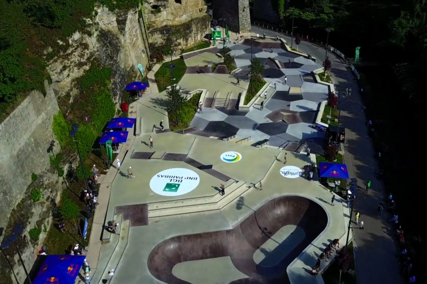 11 examples of skatepark architecture that tell the story of