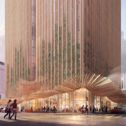 Sky Trees by Koichi Takada Architects