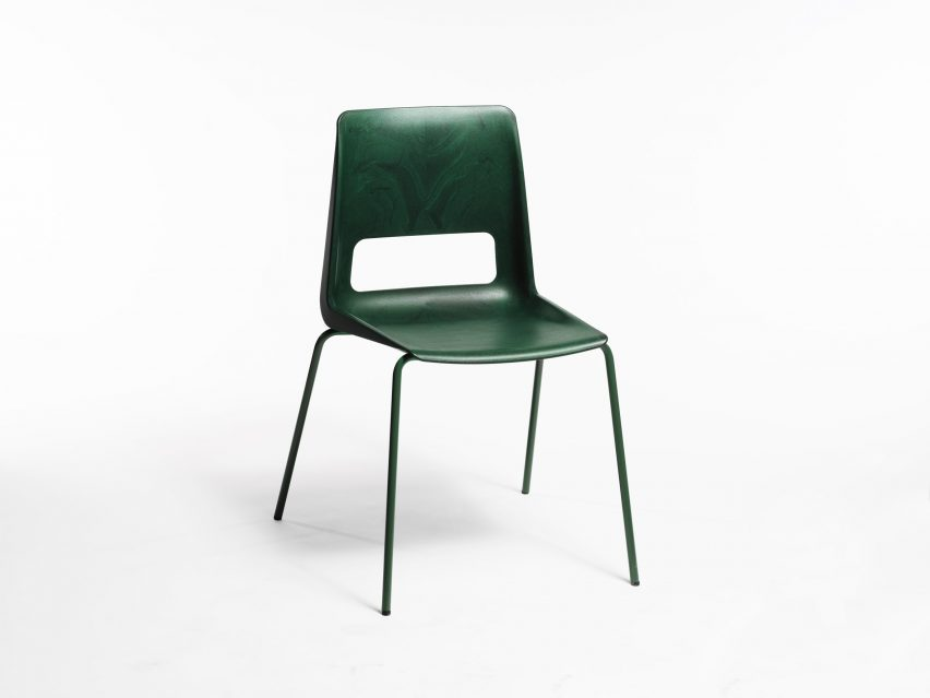 Snohetta Unveils S 1500 Chair Made From Recycled Plastic And Metal