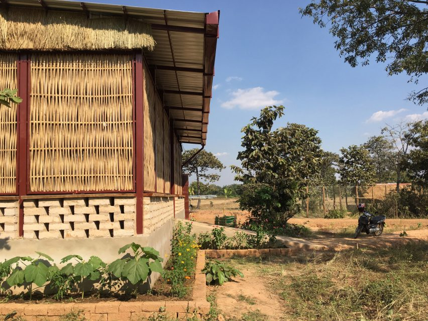 Green Shoots Foundation Agriculture Technology Centre in in Krong Samraong, Cambodia by Squire & Partners and SAWA