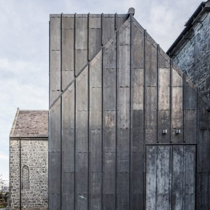 Medieval Mile Museum by McCullough Mulvin Architcts
