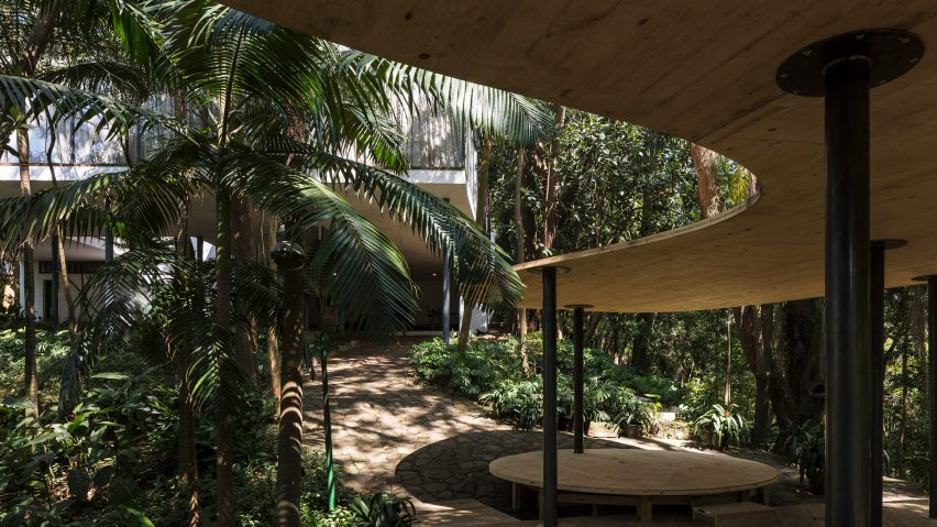 Summer House by Sol Camacho at Lina Bo Bardi's Glass House