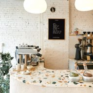 "Synonym cafe features ""cosy corners"" by Atelier Barda"