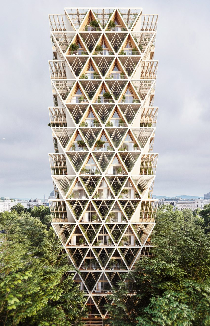 The Farmhouse vertical farm concept by Precht