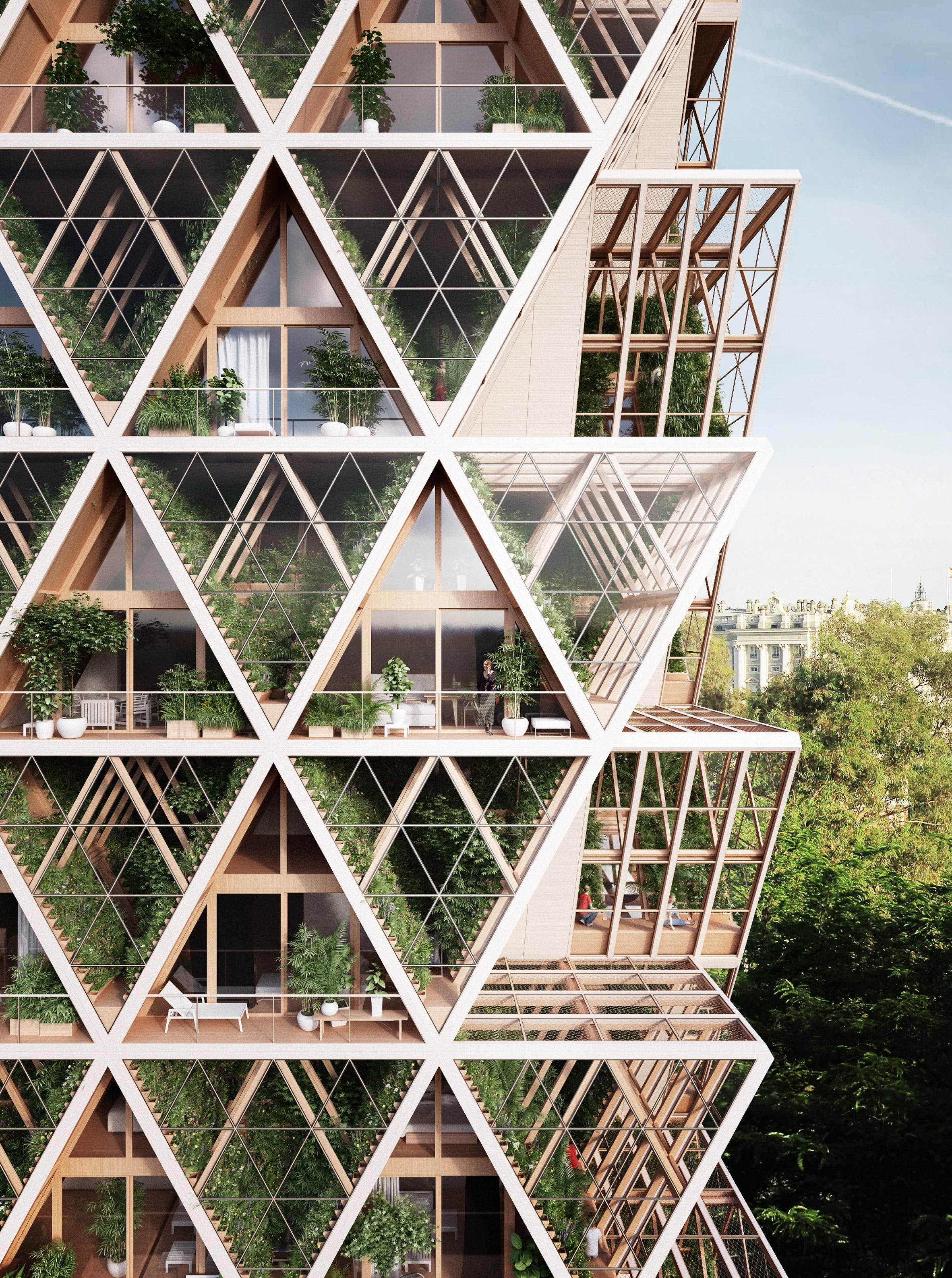 The Farmhouse vertical farm concept by Precht