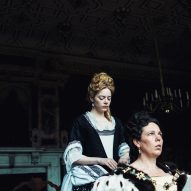The Favourite set design Fiona Crombie