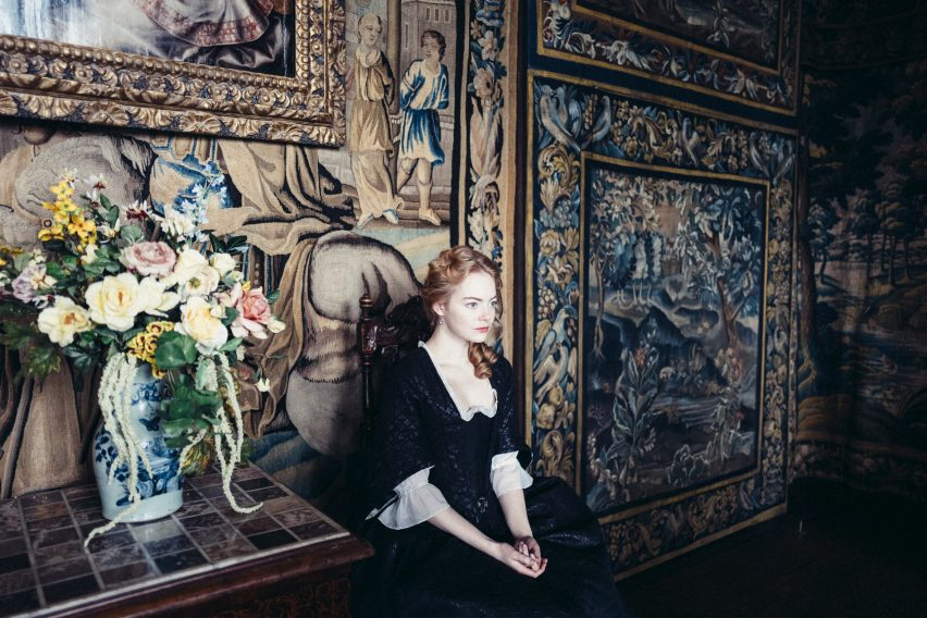The Favourite set design