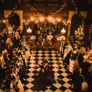 The Favourite The Favourite set design Fiona Crombie design