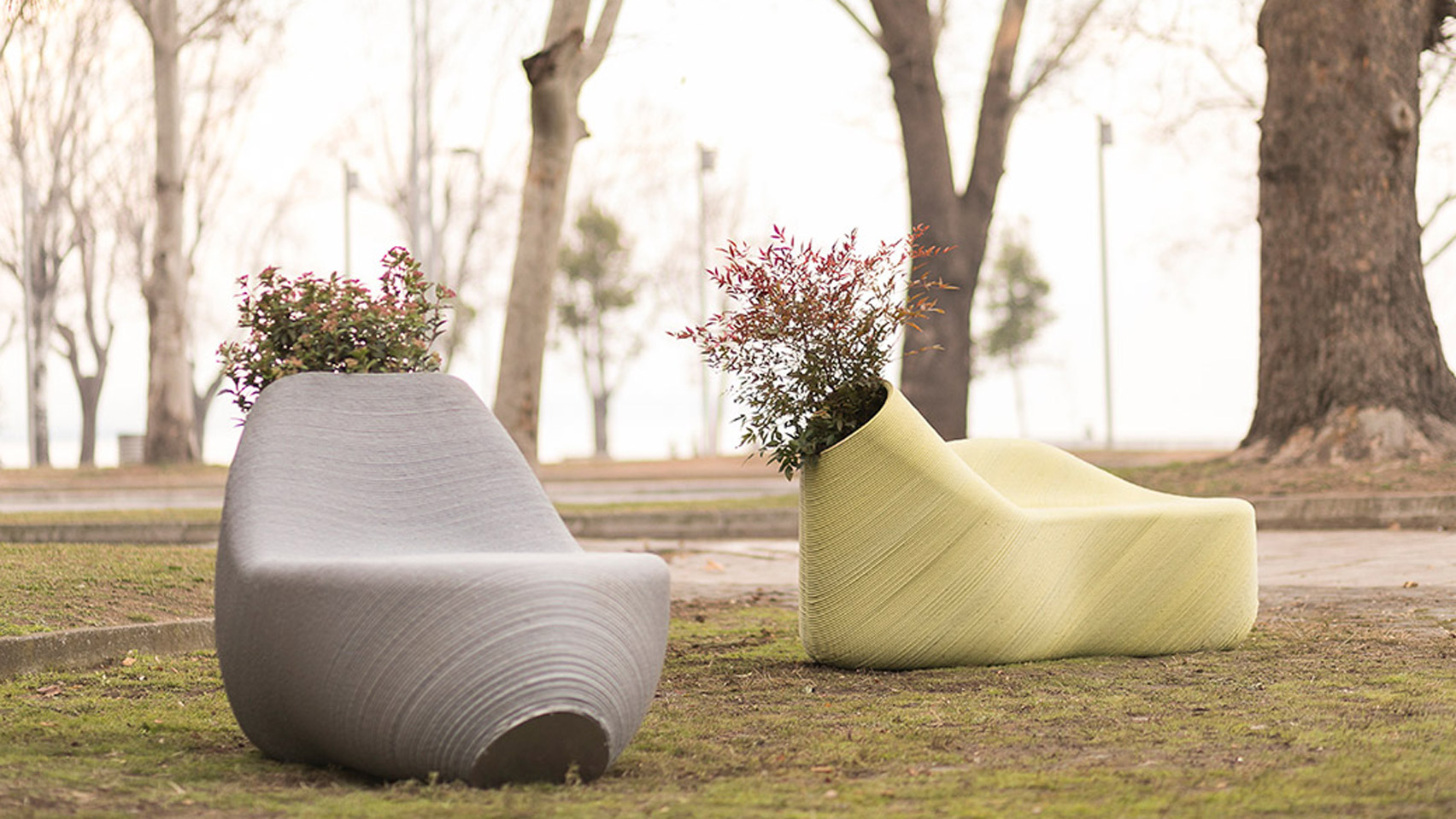 Print Your City Turns Recycled Food Containers Into Street Furniture