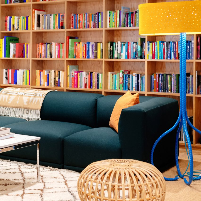 """WeWork designs """"relaxed and soft"""" Manhattan offices for Arianna Huffington's Thrive Global"""