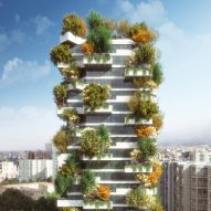 Stefano Boeri designs Tirana Vertical Forest in Albanian capital