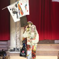 Vivienne Westwood protests climate change as environmental demonstrations hit London Fashion Week