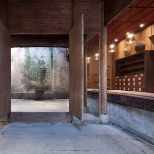 Wuyuan Skywells hotel occupies a 300-year-old building in
