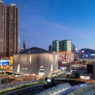 Curled aluminium ribs envelop Xiqu Centre for Chinese opera in Hong Kong