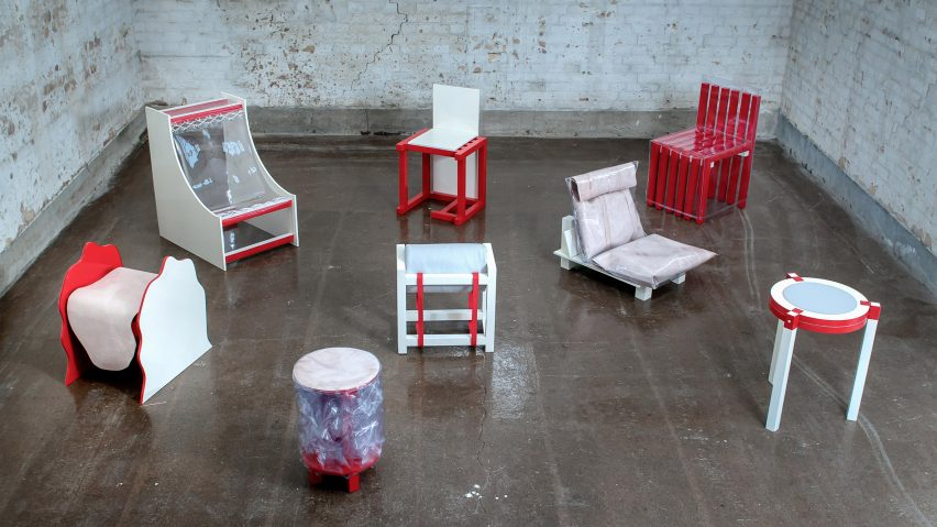 Malmö Upcycling Service repurposes waste materials to make sustainable furniture
