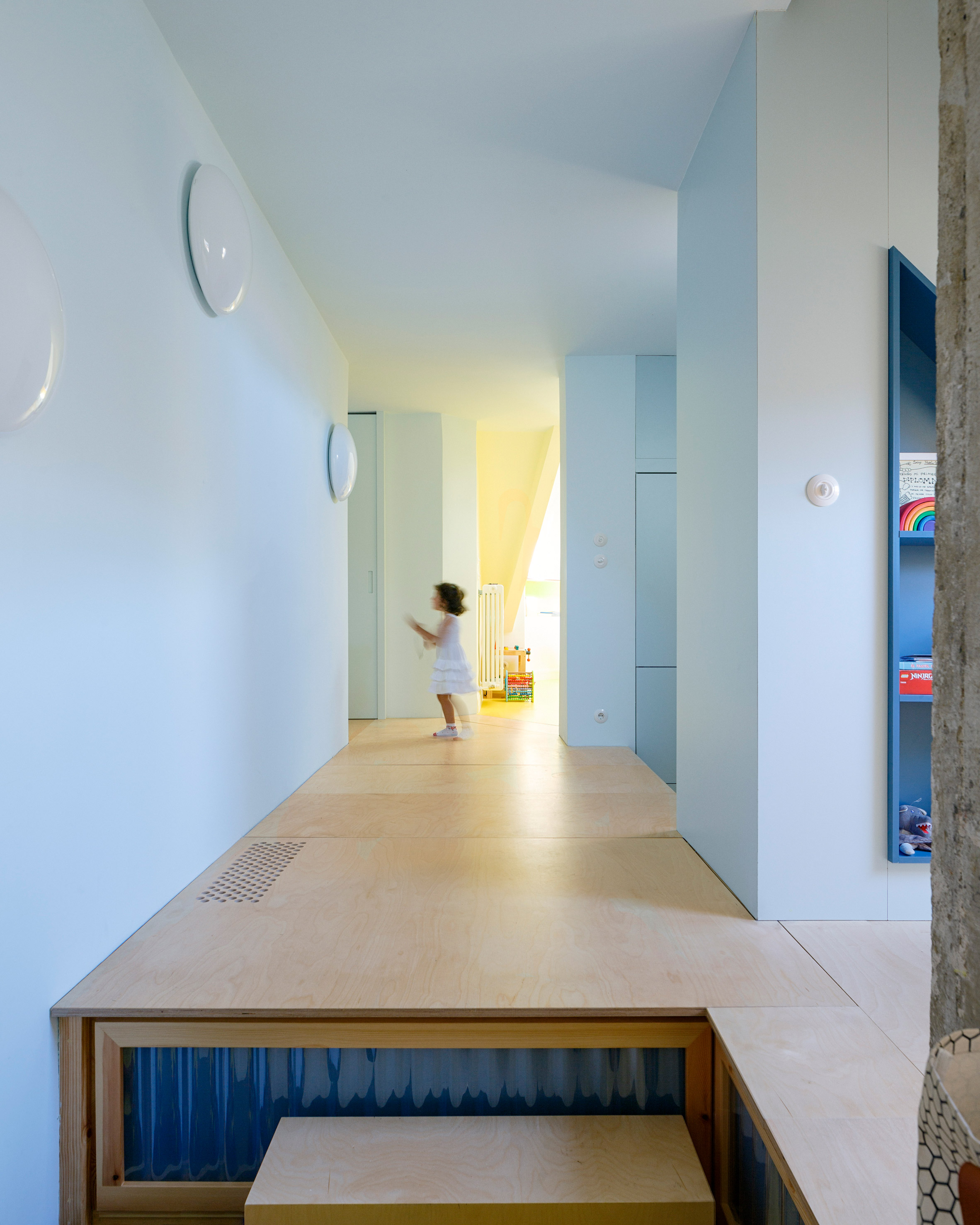 Interiors of 100.60 Apartment, designed by Azab