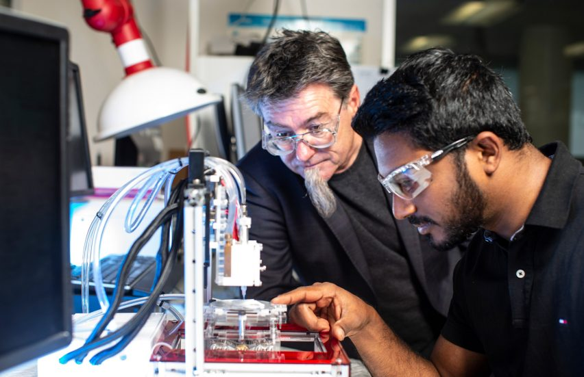 3d-printing human ears University of Wollongong