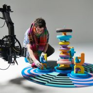 Adam Nathaniel Furman creates 3D-printed totems for ITV ident