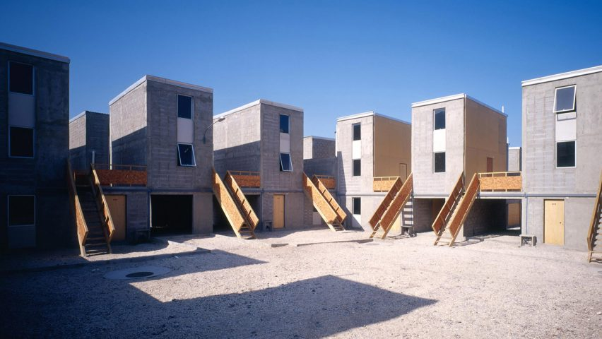 Quinta Monroy Housing project by Alejandro Aravena's Elemental, who have ended their unpaid internships