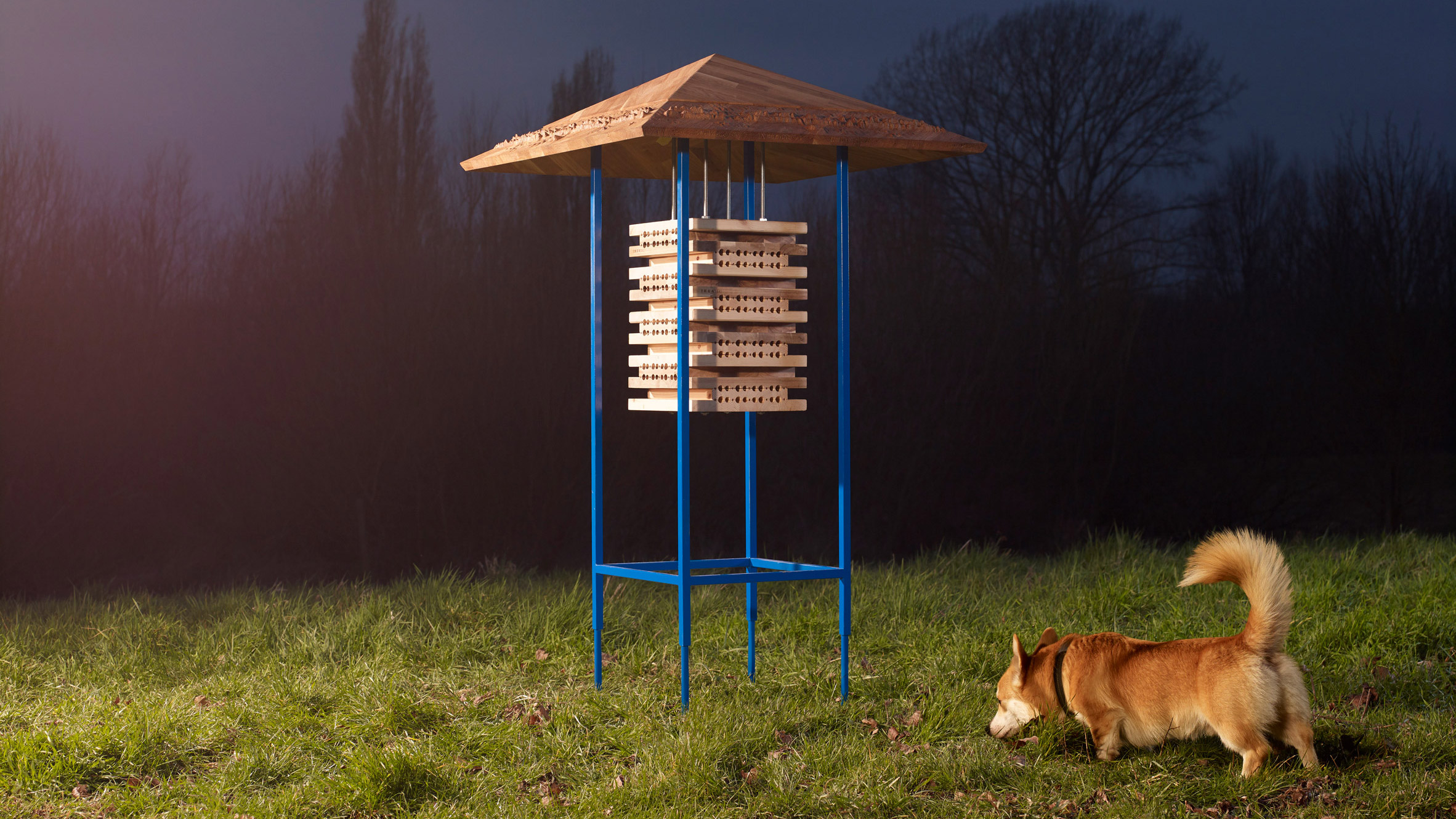 dezeen.com - Rima Sabina Aouf - IKEA upcycles furniture into colourful Wildhomes for Wildlife