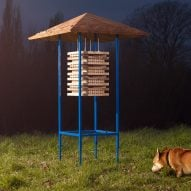 IKEA upcycles furniture into colourful Wildhomes for Wildlife