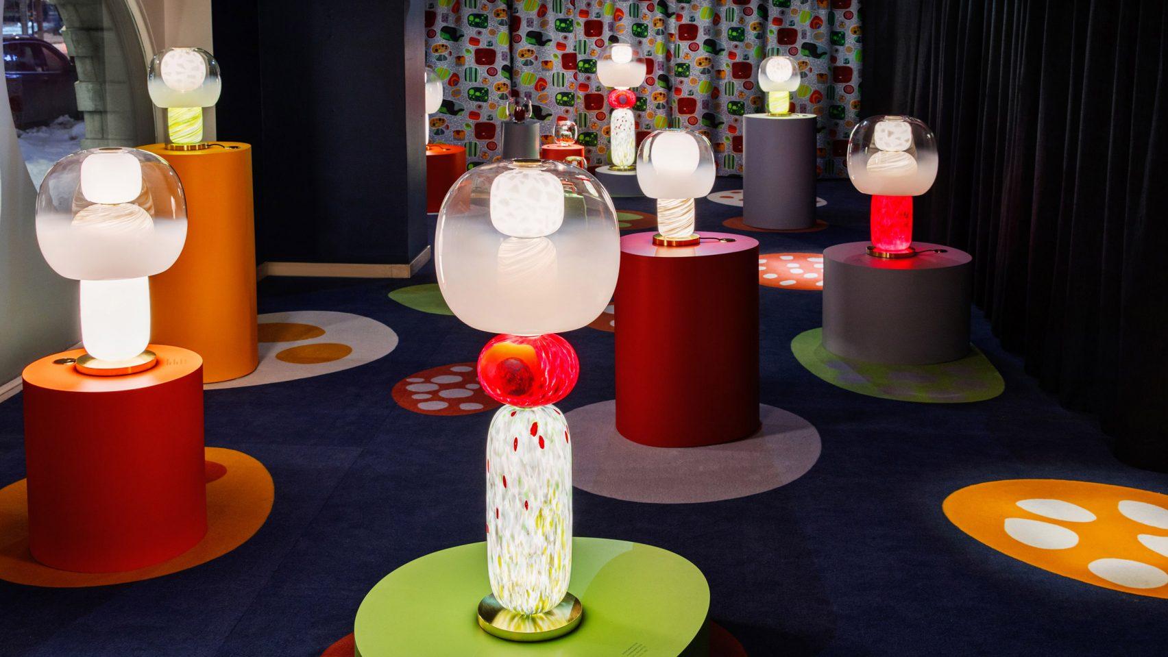 Светильники из муранского стекла в честь Йозефа Франка