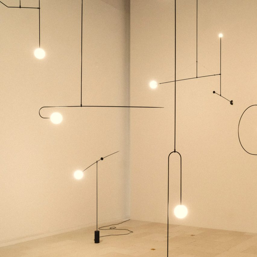 Michael Anastassiades presents his sculptural lighting in retrospective at NiMAC