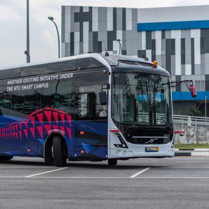 Volvo autonomous electric bus AB 7900