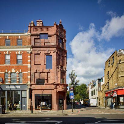 168 Upper Street in London by Amin Taha Architects