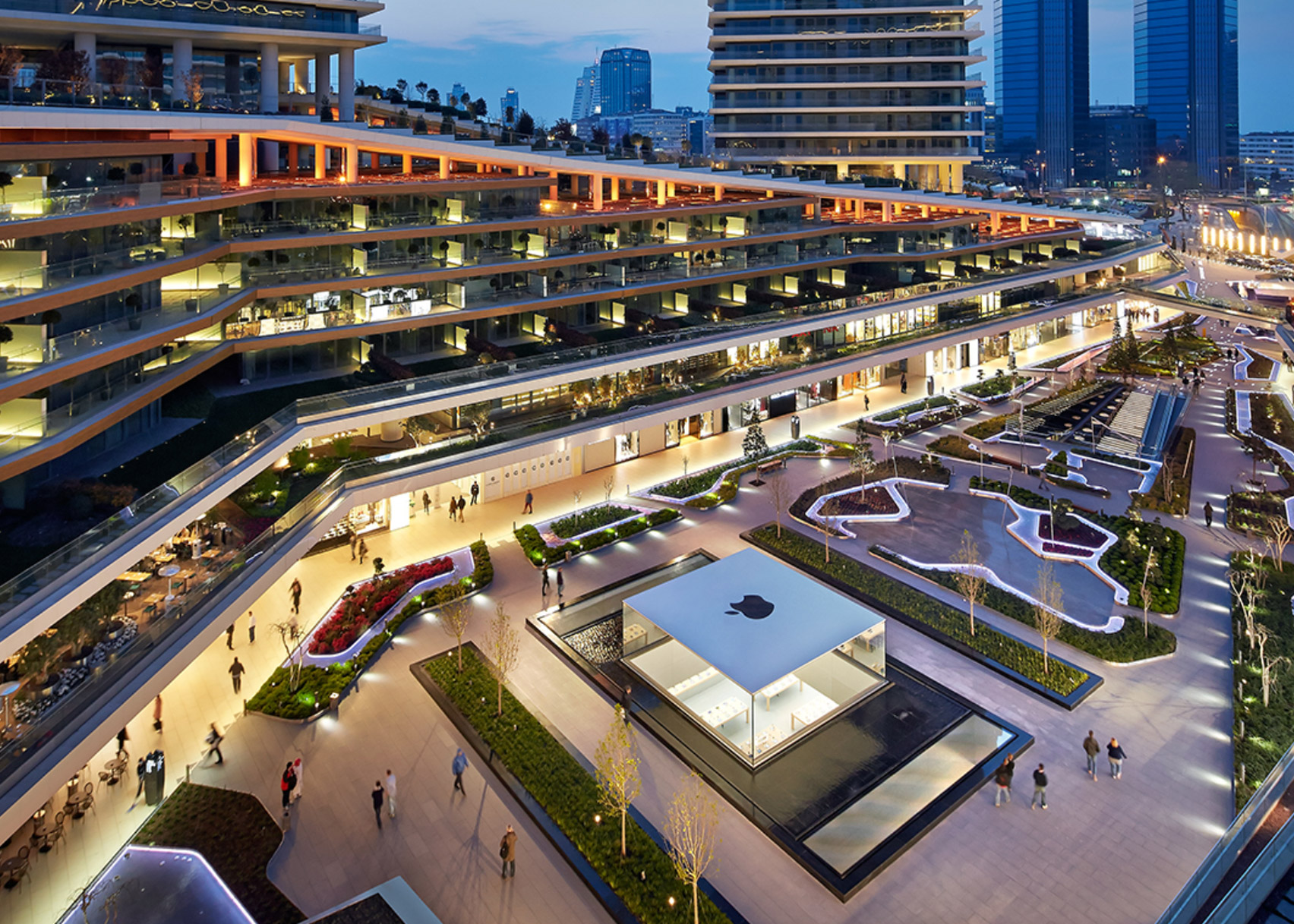 Apple Zorlu Centre by Foster + Partners