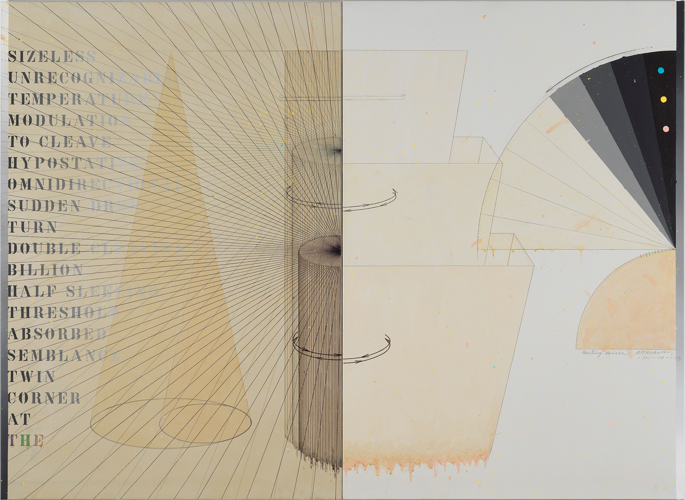 Arakawa Diagrams of the Imagination at Gagosian Gallery New York