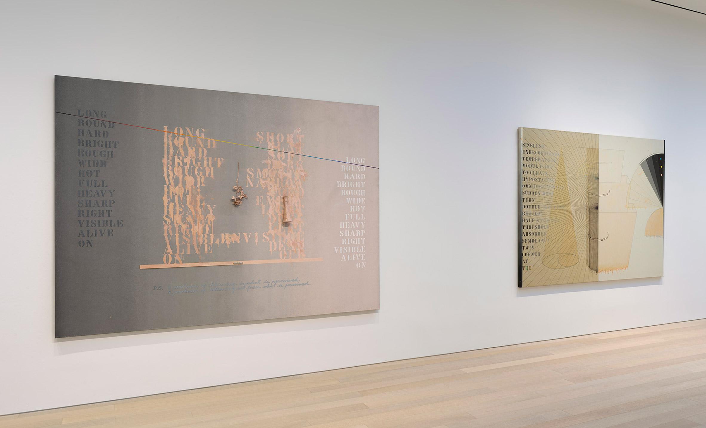 Arakawa Diagrams of the Imagination at Gagosian Gallery New York