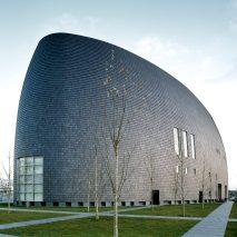 Nara Centennial Hall by Arata Isozaki