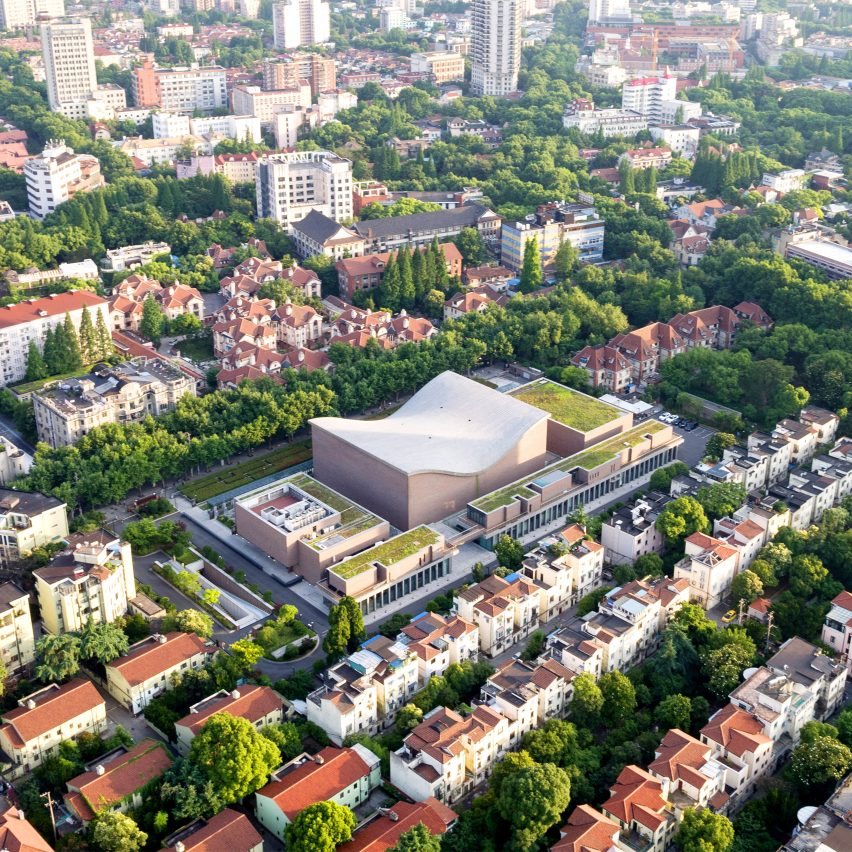 Shanghai Symphony Hall by Arata Isozaki