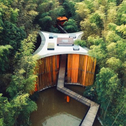 Zhuhai National Park Gateway in Guizhou, China, by West-Line Studio