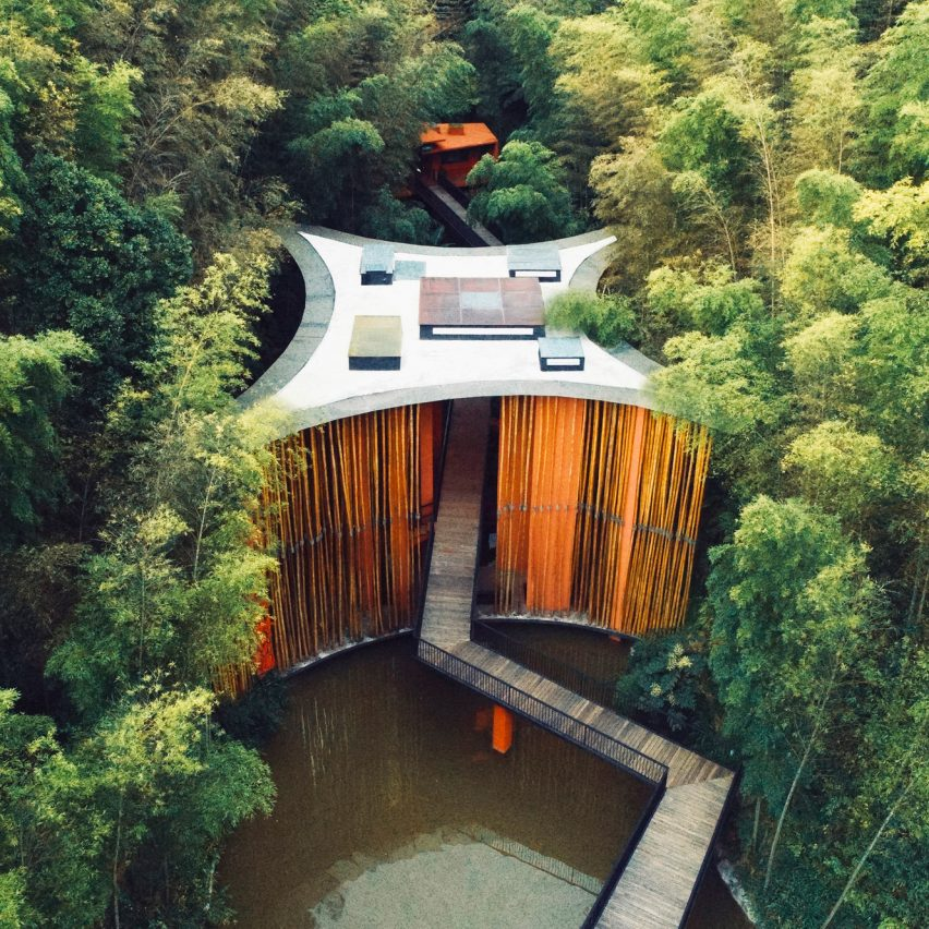 Zhuhai National Park Gateway in Guizhou, China, by West-Line Studio