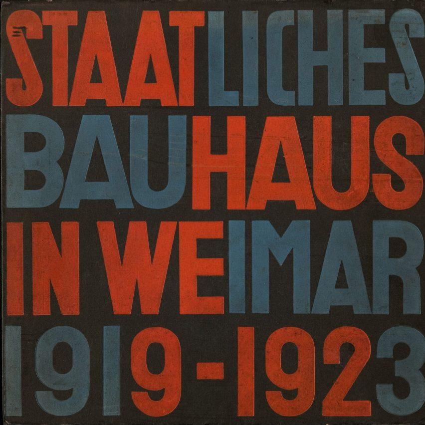 Bauhaus from A – Z: Universal typeface