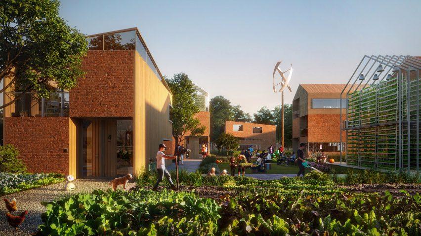 Brainport Smart District masterplan by UNStudio for Netherlands neighbourhood