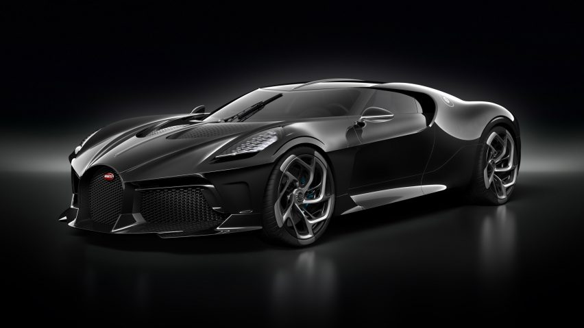 Worlds Most Expensive Car >> World S Most Expensive Car Is Bugatti S La Voiture Noire