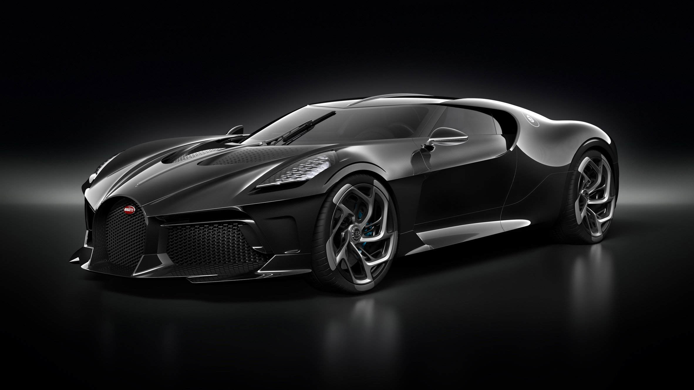 Worlds most expensive car is bugattis la voiture noire