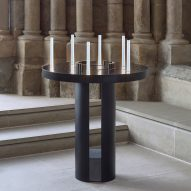 Celeste light by Marina Daguet offers electric alternative to prayer candles