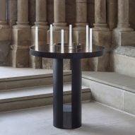 Celeste light by Marina Daguet offers electric alternative to prayer candles