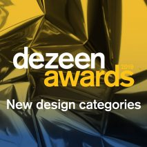 Dezeen Awards 2019 new sustainable design categories announcement